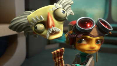 """Полный странностей первый трейлер Psychonauts 2 подтверждает, что игра выйдет в 2019 году"""""""