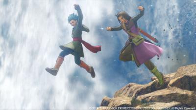Dragon Quest XI для Nintendo Switch выйдет осенью с двумя режимами графики: HD и 16-бит