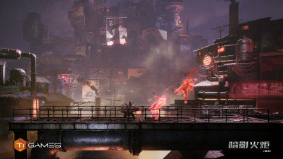 "Метроидвания в антураже дизельпанка F.I.S.T. анонсирована для PlayStation 4"""