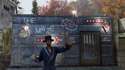 """В Fallout 76 геймер заманивал игроков в лабиринт с Когтем смерти, обещая веселье и призы"""""""