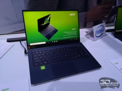 """IFA 2019: новый ноутбук Acer Swift 5 с 14"""" экраном весит меньше килограмма"""""""