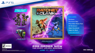 """Ratchet & Clank: Rift Apart выйдет 11 июня — предзаказы начинаются от 5499 рублей"""""""